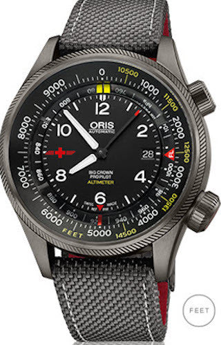 Oris Watch Altimeter REGA Limited Edition Feet Scale