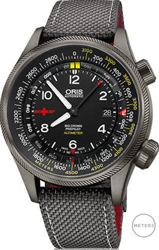 Oris Watch Altimeter REGA Limited Edition Meter Scale