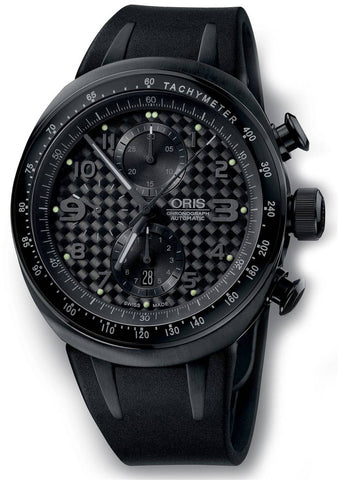 Oris TT3 Chronograph Black Rubber D