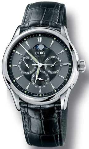 Oris Artelier Complication Leather D