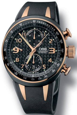 Oris Watch TT3 Chronograph Rubber Limited Edition D