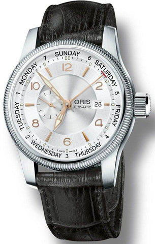 Oris Big Crown Small Second Pointer Day Leather D