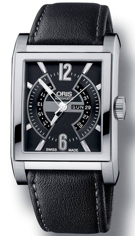 Oris Rectangular Titan Day Date D