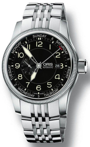 Oris Watch Big Crown Small Second Pointer Day Bracelet D