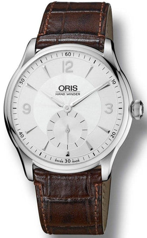 Oris Watch Artelier Hand Winding Leather D