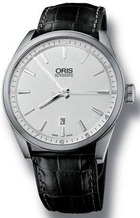 Oris Watch Artix Date Leather D