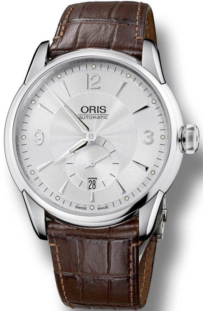 Oris Watch Artelier Small Second Leather D
