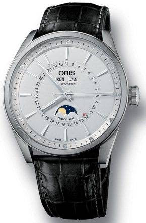 Oris Watch Artix Complication Leather D