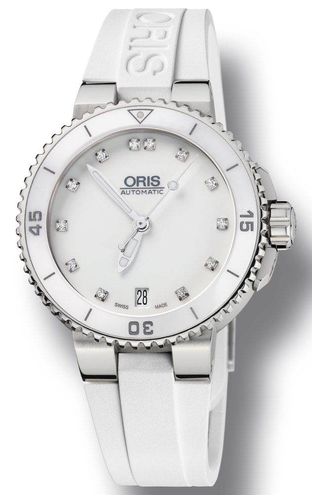 Oris Watch Divers Lady Rubber