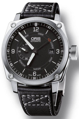 Oris BC4 Pointer Day Leather D