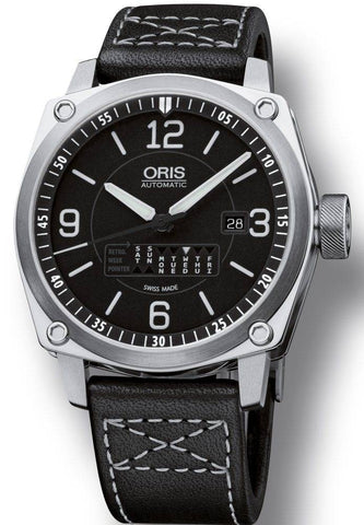 Oris BC4 Retrograde Day Leather