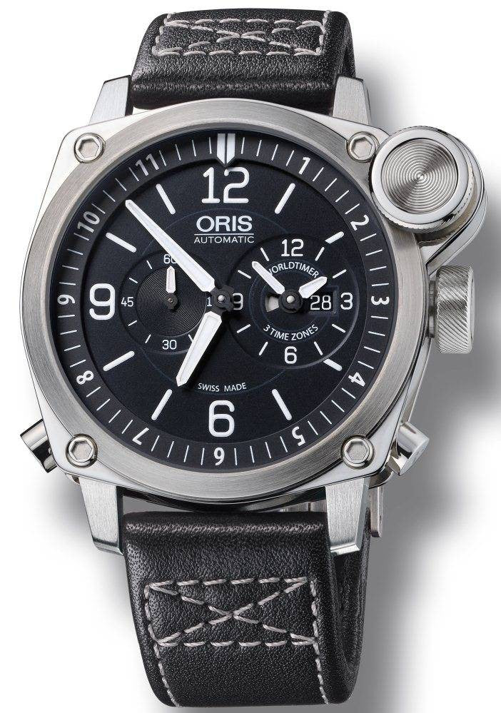 Oris BC4 Flight Timer Leather