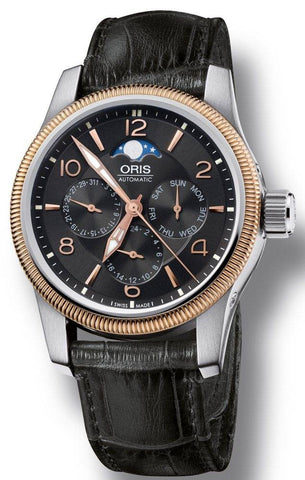 Oris Watch Big Crown Complication Leather D