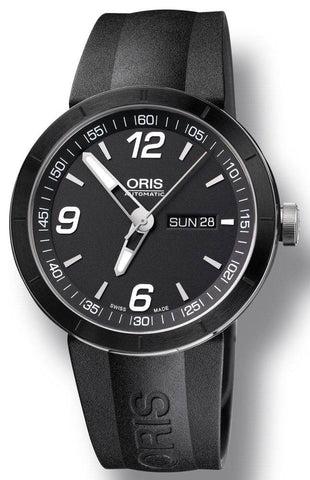 Oris Watch TT1 Ceramic Rubber D