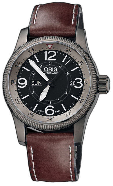 Oris Watch Big Crown Timer Leather D