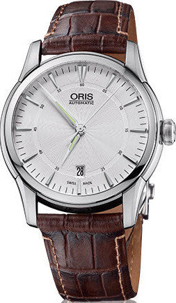 Oris Watch Artelier Date Leather D