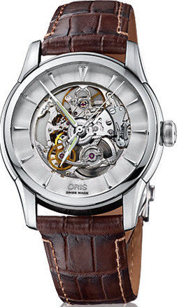 Oris Watch Artelier Skeleton Leather D