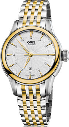 Oris Watch Artelier Lady Date Bicolor Bracelet