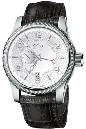 Oris Watch Big Crown Pointer Day Date Leather D
