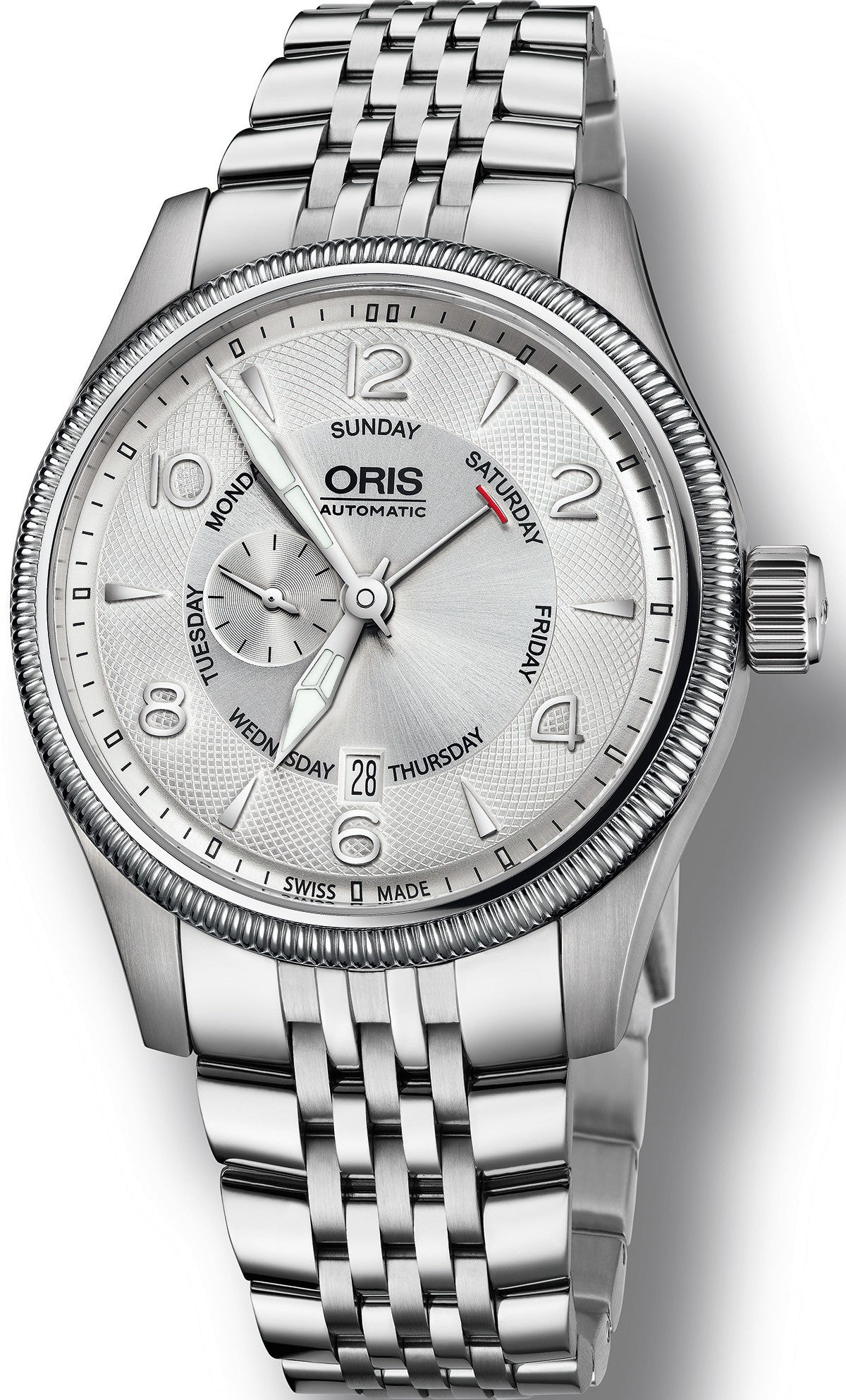 Oris Watch Big Crown Pointer Day Date Bracelet D