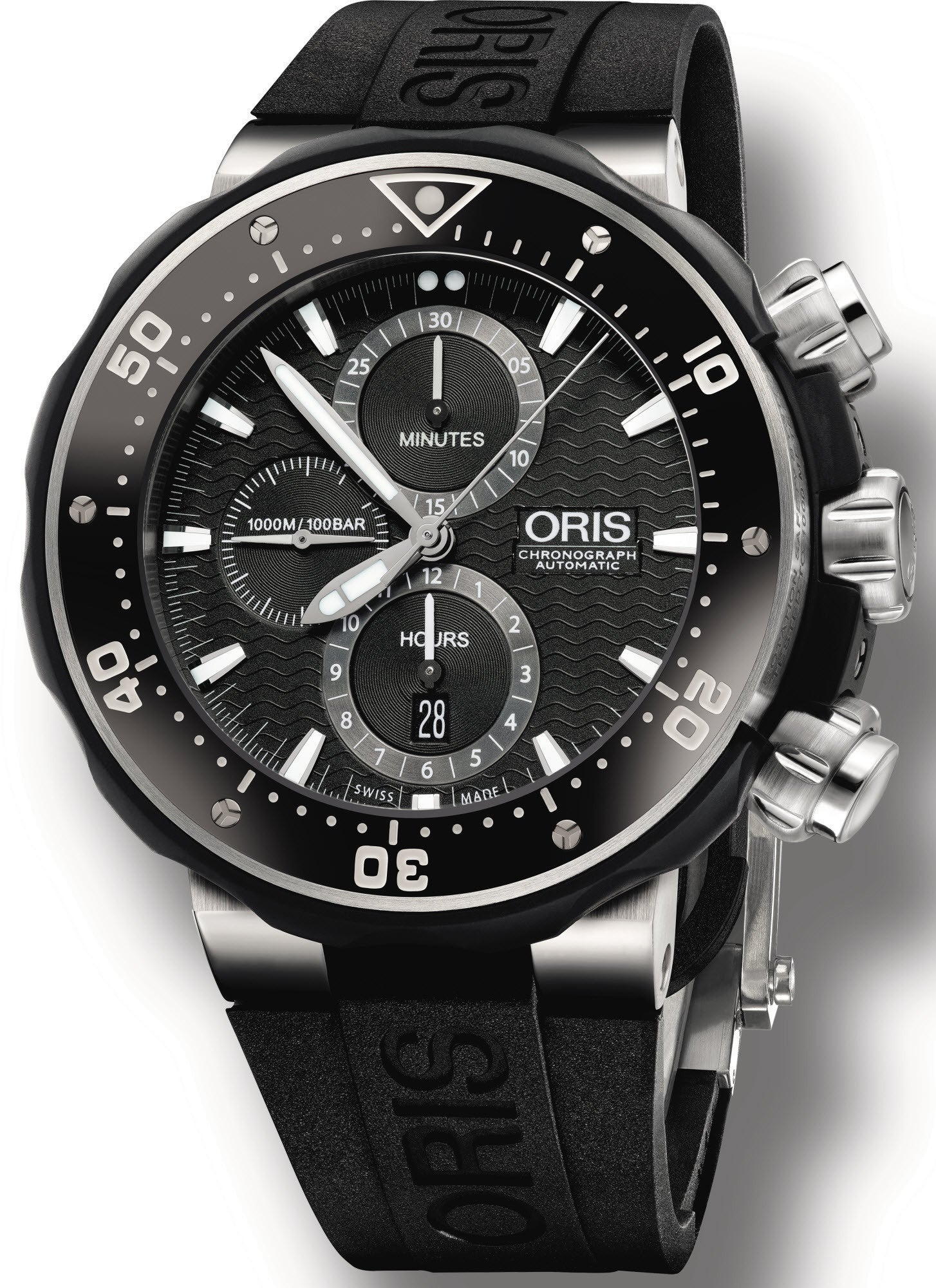 Oris watch prodive chronograph date set 01 774 7683 7154 set watch for Oris watches