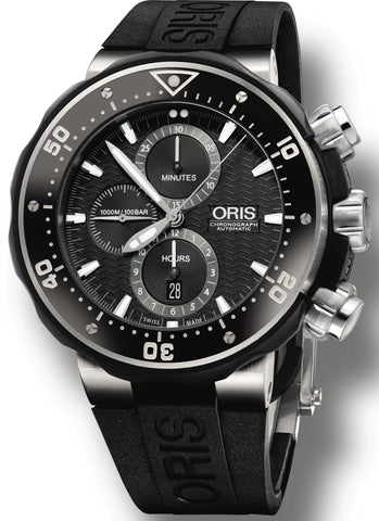 Oris Watch Prodive Chronograph Date Set