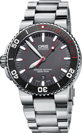 Oris Aquis Red Bracelet Limited Edition D