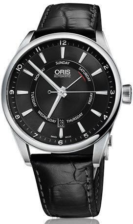 Oris Watch Artix Pointer Day Date Leather