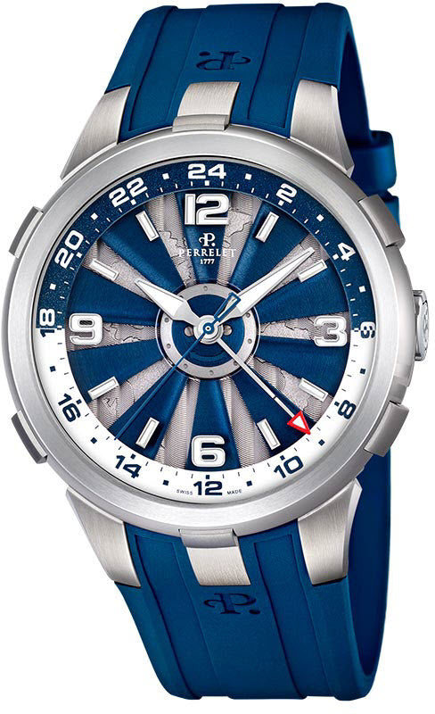 Perrelet Watch Turbine GMT