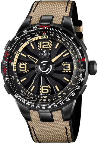 Perrelet Watch Turbine Pilot Grand Raid