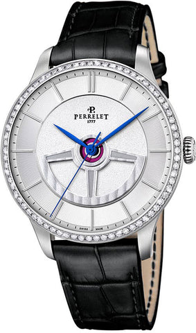 Perrelet Watch First Class Double Rotor Diamonds