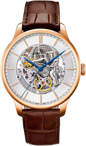 Perrelet Watch First Class Skeleton Gold 18K