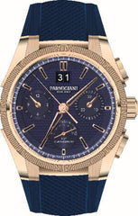 Parmigiani Fleurier Watch Tondagraph GT Rose Gold Blue Limited Edition