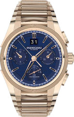 Parmigiani Fleurier Watch Tondagraph GT Rose Gold Blue Bracelet Limited Edition
