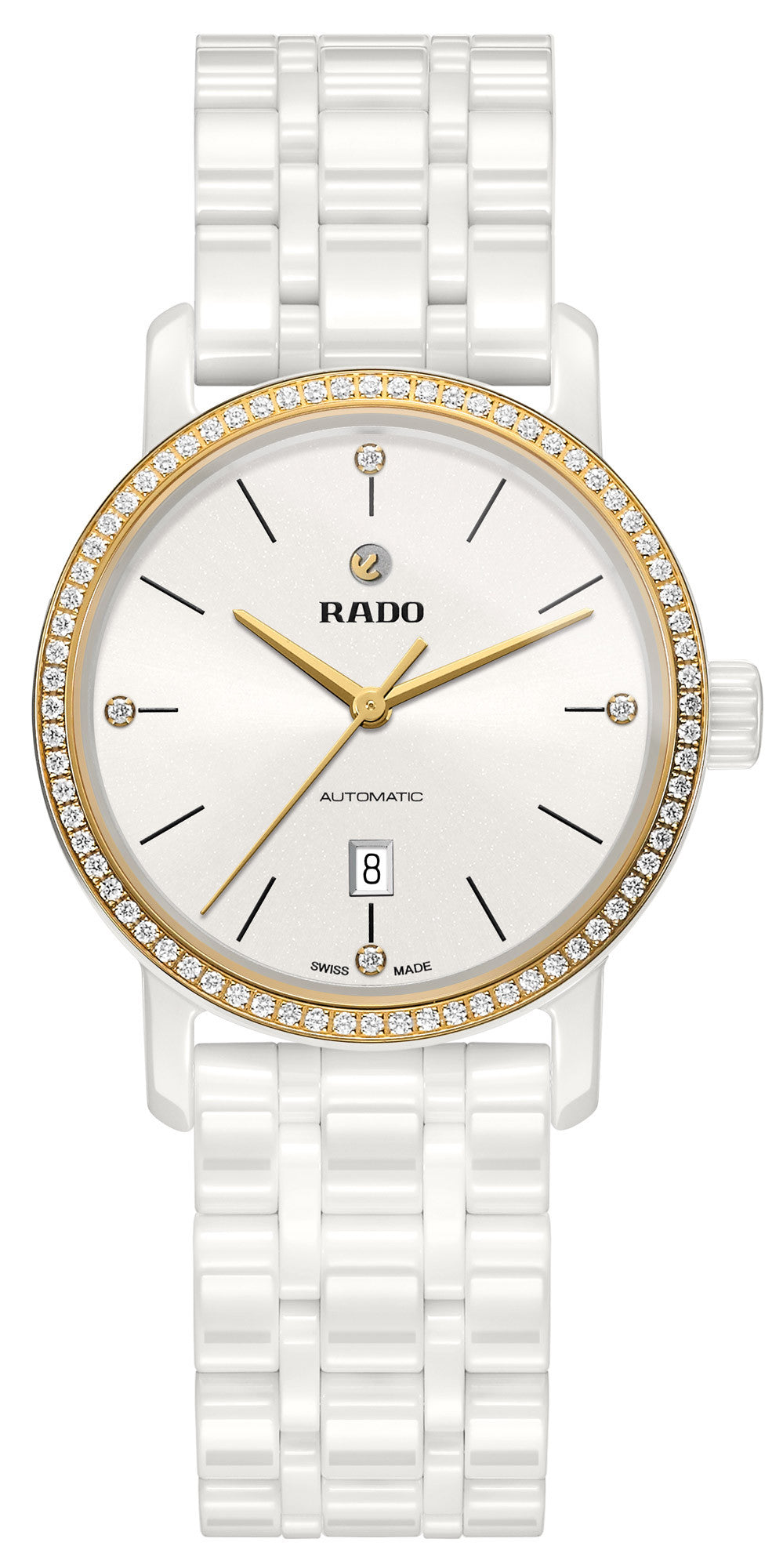 Rado Watch DiaMaster Diamonds White Ceramic Limited Edition
