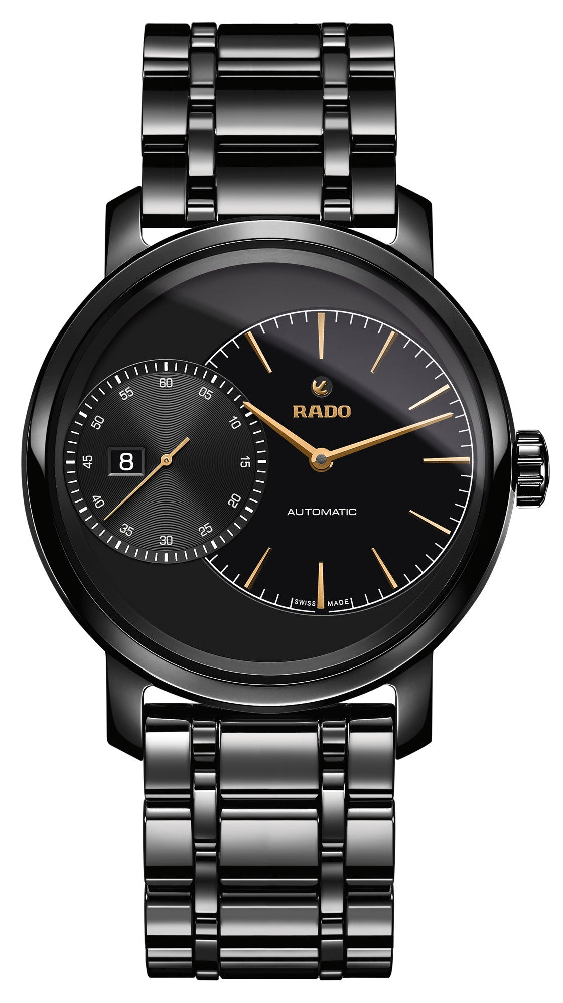 Rado Watch DiaMaster Grande Seconde Black Ceramic