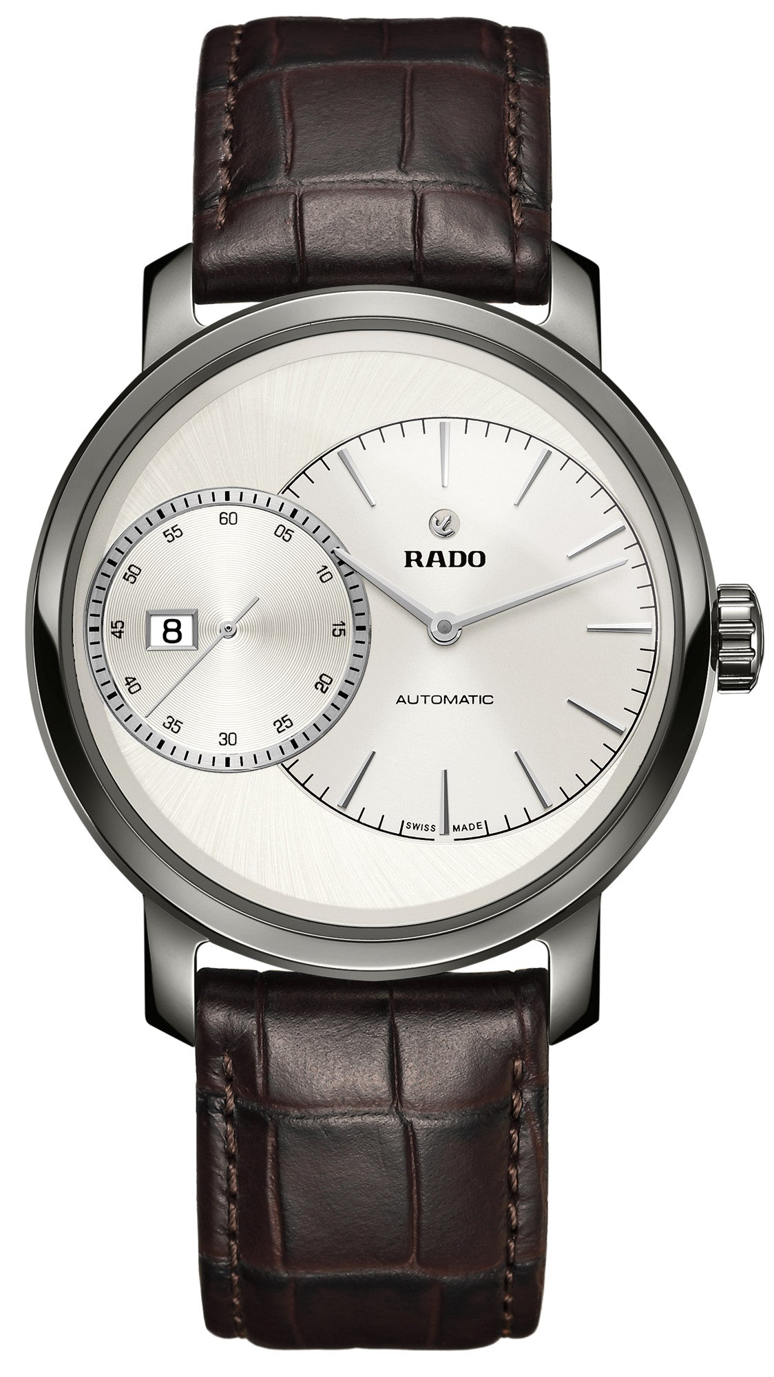 Rado Watch DiaMaster Grande Seconde Plasma Ceramic