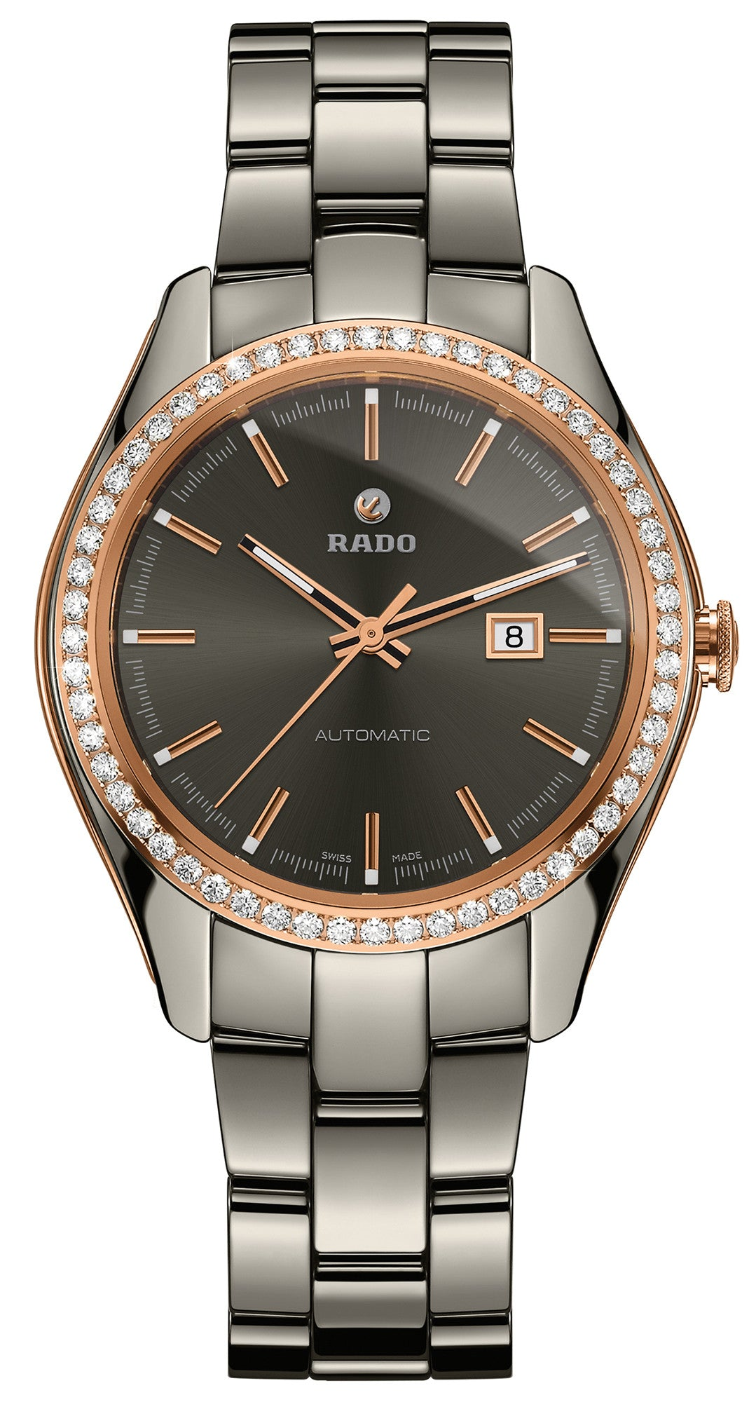 Rado Watch Hyperchrome Diamonds Plasma Ceramic Limited Edition