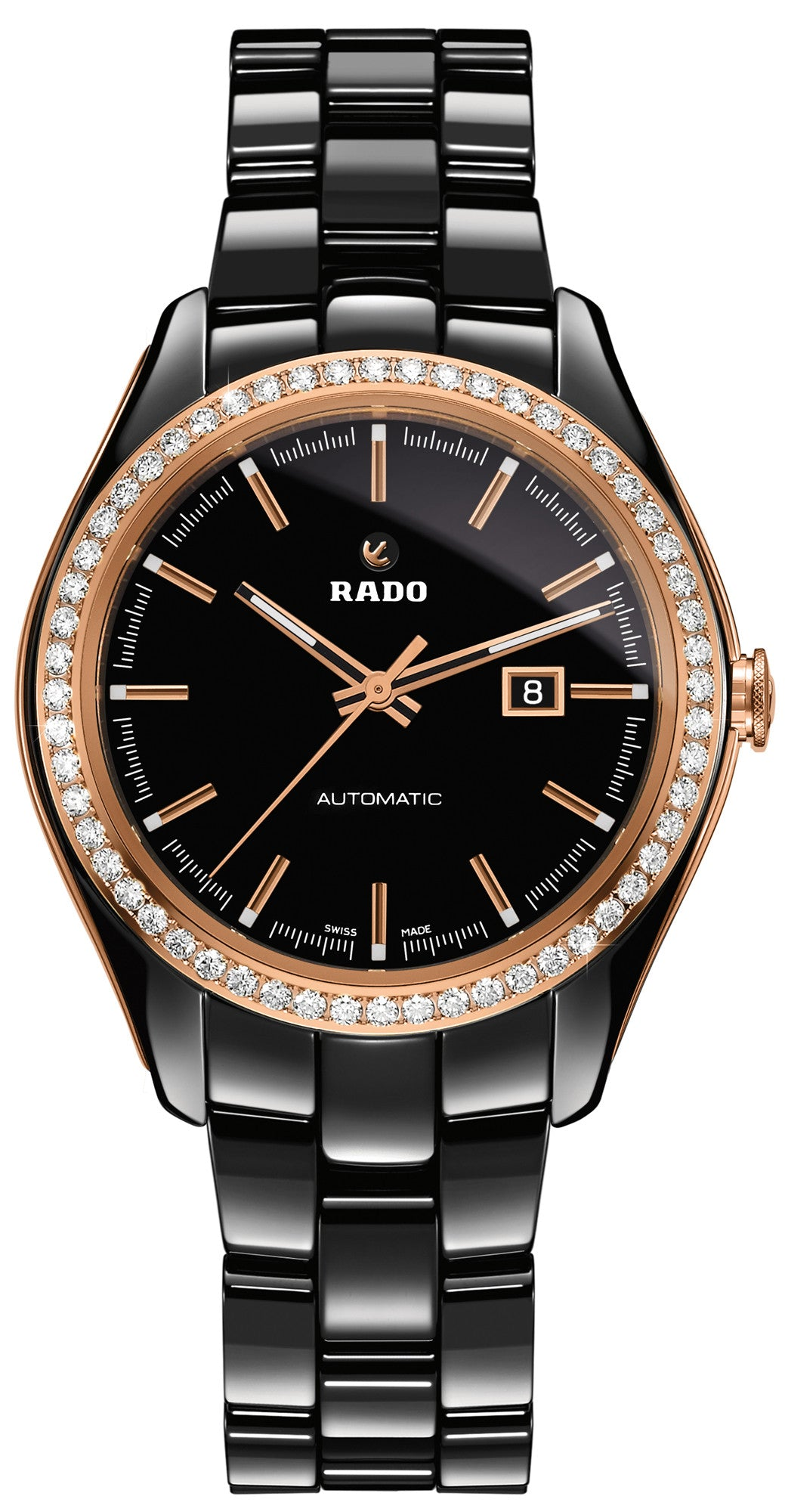 Rado Watch Hyperchrome Diamonds Black Ceramic Limited Edition