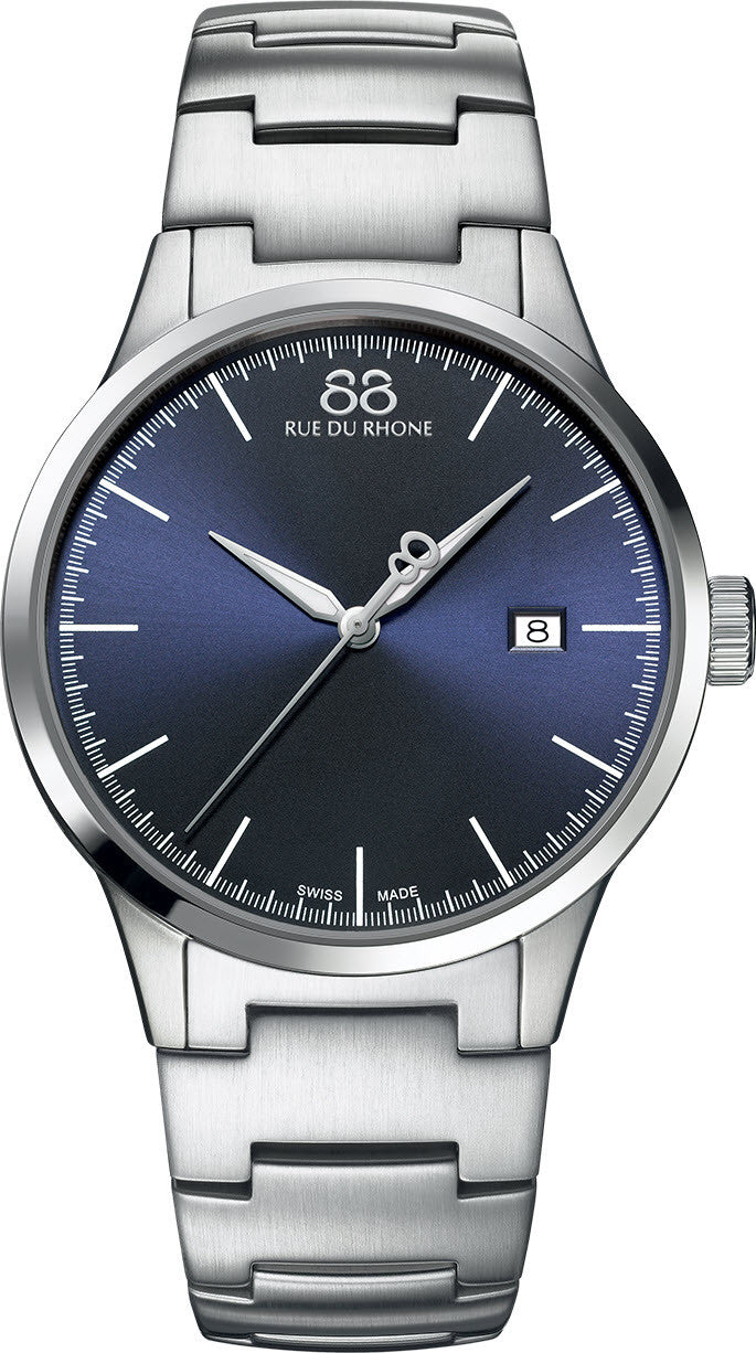 88 Rue Du Rhone Watch Rive 41mm Mens S