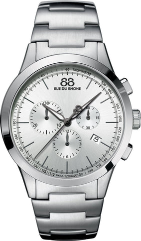 88 Rue Du Rhone Watch Rive 43mm Mens D
