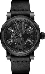 RJ Watches Steampunk Black Gunmetal
