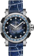 RJ Watches ARRAW RJ Star Twist Titanium Blue Spiral Galaxy Pre-Order