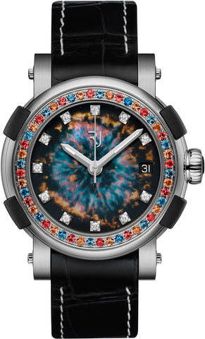 RJ Watches ARRAW RJ Star Twist Titanium Glowing Eye Nebula Pre-Order