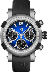 RJ Watches ARRAW Marine Titanium Blue 42mm