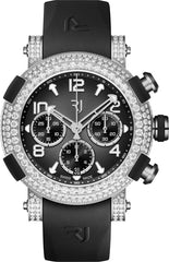RJ Watches ARRAW Marine Titanium Full Diamonds 45mm