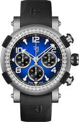 RJ Watches ARRAW Marine Titanium Blue Diamonds 45mm