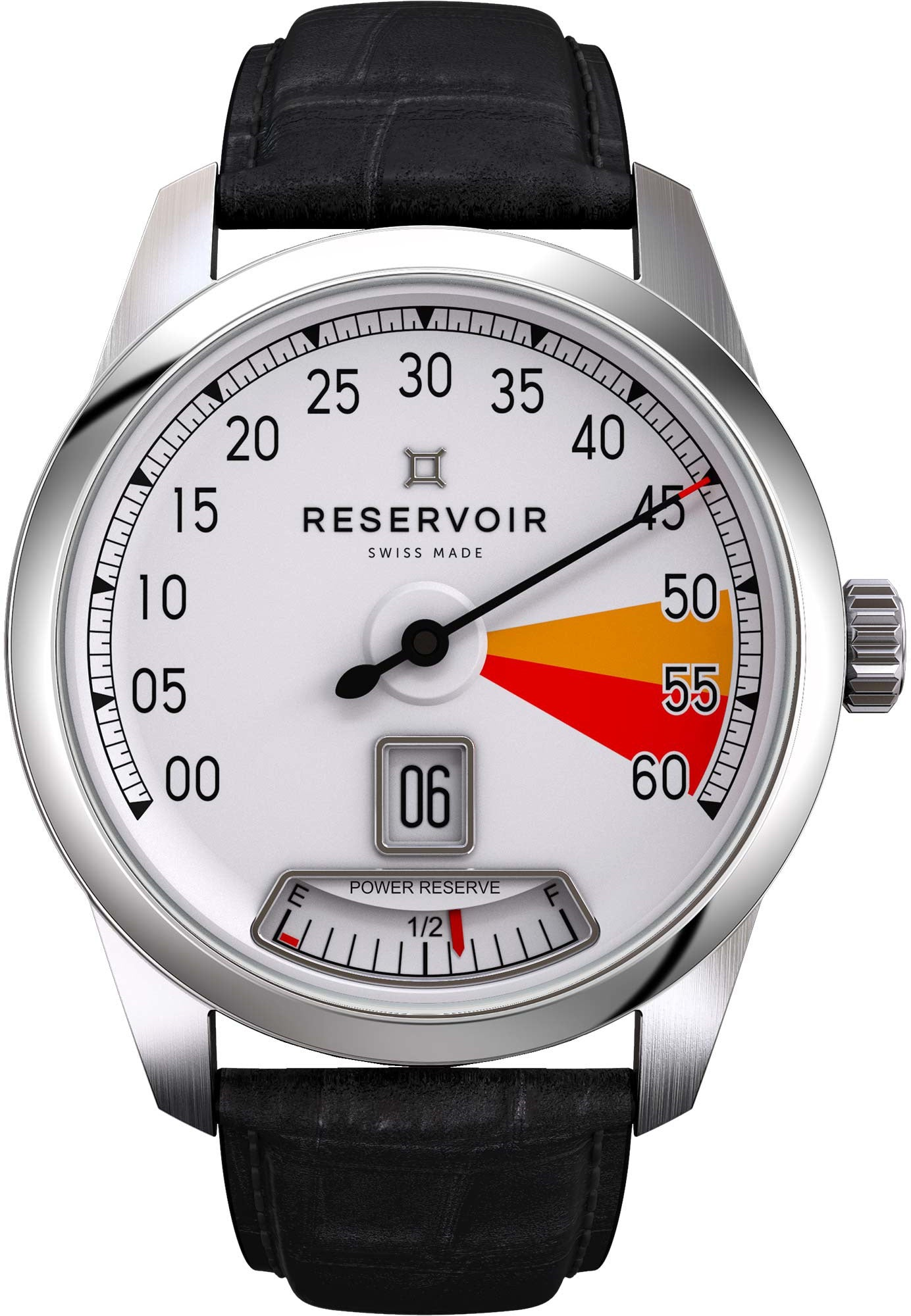 Reservoir Watch Supercharged Classic Red Zone