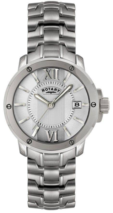 Rotary Watch Gents Steel Bracelet