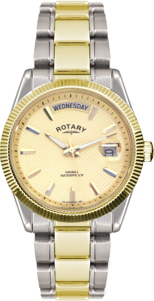Rotary Watch Gents Two Tone S
